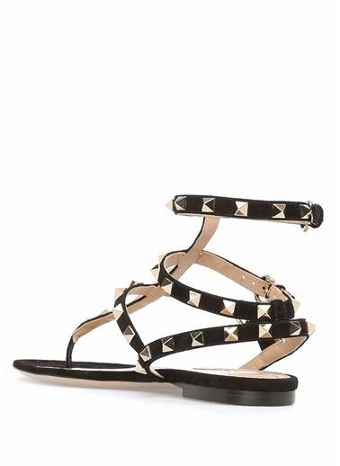 Valentino Sandalet Siyah